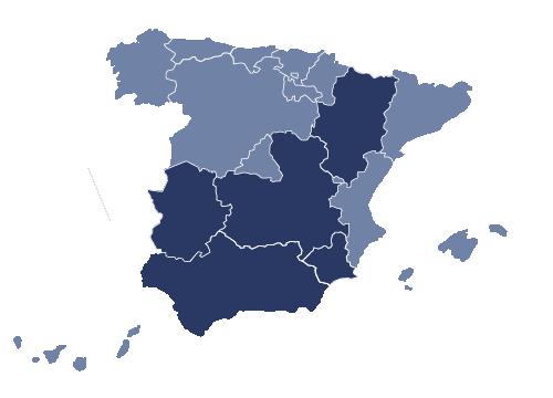 mapa españa benbros